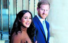 Harry y Meghan, una pareja incómoda con la etiqueta