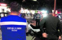 Aspectos de los patrullajes de las autoridades de Soledad junto a la  Policía en el municipio.