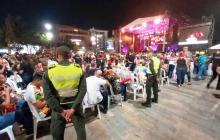 Policía atendió 145 riñas durante noche de Lectura del Bando