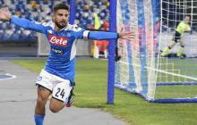 Nápoles derrota a la Lazio y se convierte en primer semifinalista de la 'Coppa'