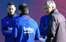 Setién da descanso a Messi contra el Ibiza