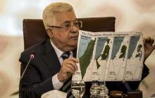 Presidente palestino anuncia ruptura de todo vínculo con Israel y EEUU tras plan de Trump