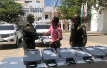 Recuperan en Palermo siete lámparas robadas en nuevo puente Pumarejo