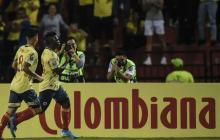 Edwuin Cetré y Jorge Carrascal, dos piezas clave para el ataque de Colombia.