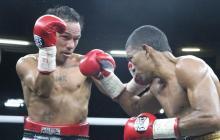 Acción del vibrante y emocionante combate entre Luis Concepción y Robert Barrera.