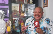 En video | Juan Piña, 60 años siendo el gladiador de la música tropical