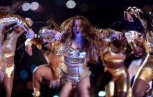 Shakira bailó al ritmo de 'El Sebastián' durante su show en el Super Bowl.