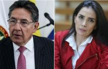 """""""Las diez mentiras de la Merlano"""": reacción del exfiscal Martínez tras audiencia de la excongresista"""