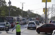 AMB anuncia el desvío de cuatro rutas de buses por montaje de palcos en la Vía 40