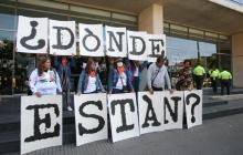 """""""Queremos limpiarles el nombre a nuestros hijos"""": madres de Soacha"""