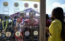 El ciclista colombiano Egan Bernal en el Tour Colombia 2.1.