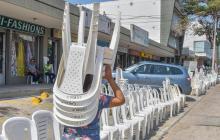 En video   Ambiente festivo en la 44 previo al desfile de La Guacherna
