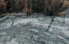 En video | Controlado incendio en Sierra Nevada