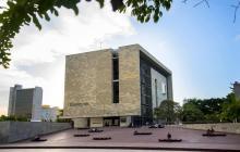 Plaza Mario Santo Domingo, donde se realizará la Noche del Río.