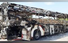 Autoridades dudan que ELN sea autor de quema de bus en Magdalena