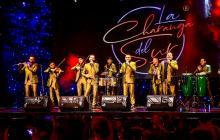 La Charanga del Sur, orquesta de Barranquilla en una presentación.
