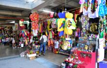 Locales comerciales para la venta de vestuario y todo tipo artesanías y accesorios relacionadas con el Carnaval de Barranquilla.