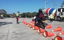 Policía hace prevención en movilidad con jornadas pedagógicas