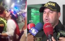 """En video   """"Amerita una sanción penal por acto sexual abusivo"""": Policía sobre comportamiento de mujer en Guacherna"""