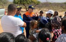 Autoridad marítima dialoga con la comunidad y familiares de pescadores desaparecidos.