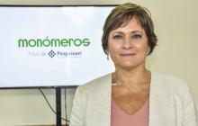 La ingeniera Carmen Elisa Hernández, presidenta de junta directiva de Monoméros.