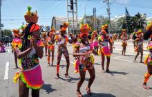 La tradición primó en el desfile de salvaguarda de la calle 84