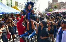 En video | Desfile 'Martes de Carnaval' celebró el folclor en la calle 84