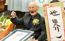 Fallece en Japón a los 112 años el hombre más viejo del mundo