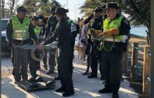 Policía Metropolitana libera 26 especies silvestre en el Lago del Cisne