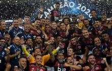 Flamengo gana su primera Recopa Sudamericana