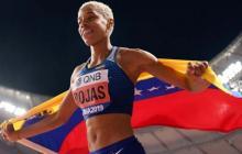 """""""Lo mejor está por llegar"""", dice Yulimar Rojas, con sed de nuevos récords"""