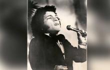 Nelson Ned en uno de sus memorables conciertos en los años 70.