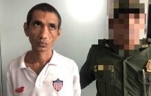 Capturan a hombre con supuesta esquizofrenia que golpeó a la mamá en la cabeza
