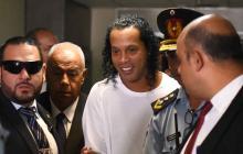 Arrestan nuevamente a Ronaldinho y a su hermano en Paraguay