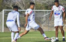 'Cariaco' González, Jefferson Gómez y Cristian Higuita serían titulares hoy.