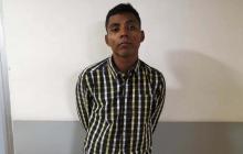 Carlos Andrés Morales Escobar, capturado.