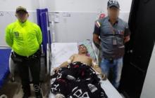 Explosivista del Eln llega herido a clínica de Aguachica y lo capturan
