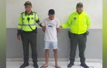 Neyder José Maury Castro, alias el Pollito, capturado.