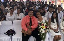 México celebra 10 años de matrimonio igualitario con boda colectiva