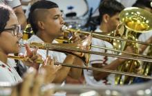 Niños de Soledad y Malambo integran la orquesta en la que aprenden no solo a sentir la música, sino a ser mejores ciudadanos.