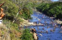 Balneario Hurtado, en el río Guatapurí.