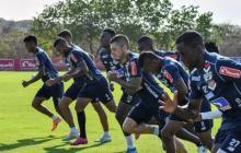 Los jugadores de Junior entrenaron por última vez el lunes pasado. El equipo paró los entrenamientos para reducir las posibilidades de propagación del coronavirus.