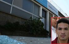 Vista de la fachada de la Unidad de Reacción Inmediata, URI, de la Fiscalía, en su sede de La Pradera.