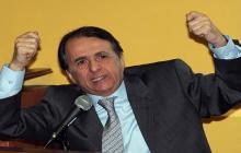 Alberto Santofimio, exsenador y exministro condenado por el magnicidio de Luis Carlos Galán.