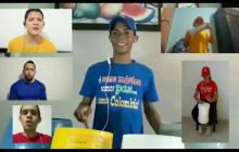 En video | Banda de Baranoa interpreta Colombia Tierra Querida con instrumentos no convencionales