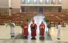 Hoy tenemos claro que no está en nuestras manos decidir el rumbo de las cosas: Monseñor Salas