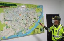 Por COVID-19, Policía de Tránsito refuerza controles en vías de Barranquilla durante la Semana Santa