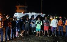 En video   Hallan a diez pescadores que quedaron a la deriva en San Andrés