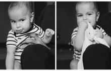 Estas son las imágenes publicadas por Ricky Martin en su cuenta de Instagram, mostrando a su pequeño.