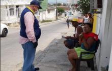 El director de la Oficina Asesora para la Gestión Del Riesgo de Desastres, Fernando Abello